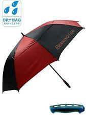 Bennington Wind Vent Golfschirm UV Proof 50+  -Farbe : Black/Red, Neu!