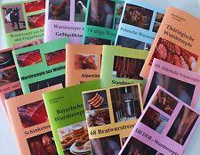 987 wurstrezepte para hausschlachtung 14 folletos