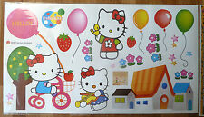 HELLO KITTY  WALL STICKER NURSERY/KIDS/GIRLS/BOYS ROOM