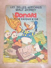 DONALD ET LE CASQUE D'OR / LES BELLES HISTOIRES DE WALT DISNEY / 1953 / RARE