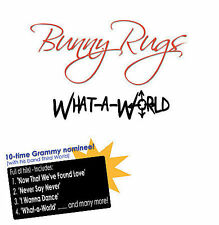 What a World by Bunny Rugs cd SEALED + BONUS TRACK