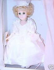 "Effanbee 11"" Doll BRIDE Gala Costume Joyous Collection MIB`89 RARE!"