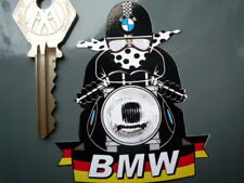 BMW Cafe Racer Motorcycle Rad STICKER PuddingBasin Helmet Bike Autocollant Decal