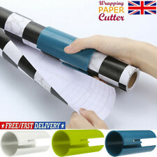 2X Sliding Wrapping Paper Cutter Xmas Gift Wrap Packing Roll Cutter Tool