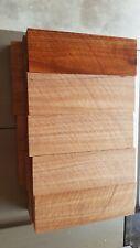 Tasmanian Blackwood knife handle scales x5 quarter sawn