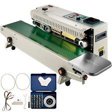 Vevor Continuous Bag Band Sealing Machine Band Sealer Machine Horizontal Fr900k