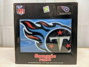 NFL Tennessee Titans Football Team New Snuggie Pillow Blanket NIB
