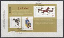 CANADA #2523 ART CANADA JOE FAFARD SOUVENIR SHEET FIRST DAY COVER