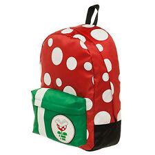 Super Mario Mushroom Themed Backpack NEW Bag School