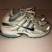 NIKE SKYRAIDER WOMENS RUNNING SHOES SNEAKERS 344099-141 SIZE 7.5 Grey/Blue