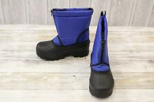 Northside Icicle Snow Boot - Little Kid's size 1 - Royal Blue