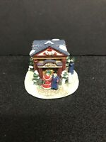 Vintage Collectible Crystal Falls Christmas Village 1993 Town Theatre