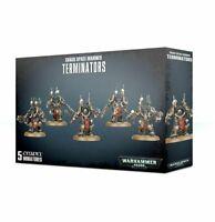 Chaos Space Marines Terminators Warhammer 40K Black Legion NIB Flipside