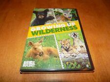 GROWING UP WILDERNESS Animal Planet Baby Animals Animal Wolf Bear Deer DVD NEW