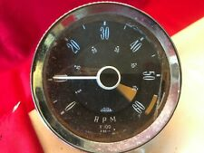 Classic Car 4 Inch Tachometer Jaeger 3.55-1 RN 13 For Reconditioning
