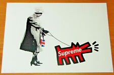 DEATH NYC Ltd Ed Print - Supreme Dog Queen - NYC COA & Sticker 45x32 No. 95/100
