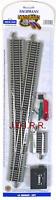 HO Scale Model Trains Layout Bachmann EZ Track NIckel Silver #6 Left Switch