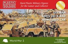 PLASTIC SOLDIER 1/72 German Sdkfz 231 blindé 8-Rad voiture # WW2V20025
