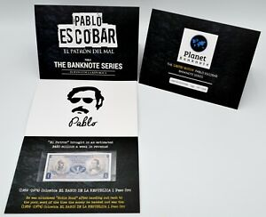 Pablo Escobar Banknote Series 1959-74 Colombia 1 Peso Oro UNC Limited Edition