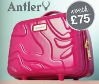 Avon Antler Pink Glam Box  Holidays  Beautician  Travel NEW **FREE POSTAGE**