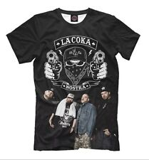 La Coka Nostra t-shirt - rap stars tee legendary band hip-hop monsters LCN logo