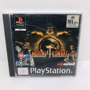 *RARE* Mortal Kombat 4 PS1 Playstation 1 PSX PAL