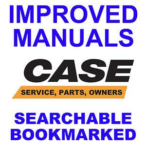 CASE 580D 580SD TRACTOR SERVICE MANUAL, OPERATOR, PARTS -3- MANUALS Super D CD