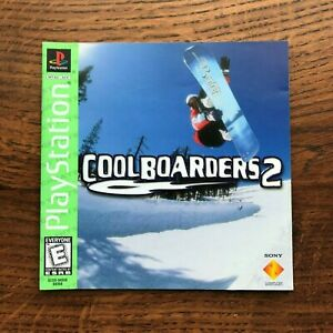 Cool Boarders 2 PS1 Playstation 1 PS One Instruction Manual Only