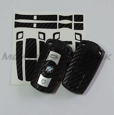 1B_Schlüssel-Dekor Aufkleber BMW 1er 3er 5er 6er 7er Z4 X1 X5 M schwarz carbon
