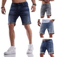 Jack & Jones Herren Jeans Shorts Bermudas Casual Used Look Herrenjeans Hose