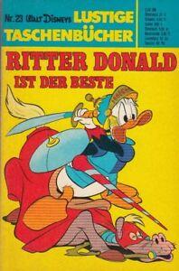 Walt Disneys Lustige Taschenbücher Nr.23, Erstauflage, Ritter Donald ist der...