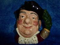 "Vintage ROYAL DOULTON 1957 ""Mine Host"" Large Character Toby Jug D6468 G.C."