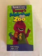 Barney's Alphabet Zoo Sing Along Barney & Friends Collection 1994