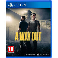 VIDEOGIOCO A WAY OUT PS4 GIOCO CO-OP PLAYSTATION 4 EA ORIGINALE ITALIANO NUOVO