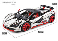 Custom Technic Venom GTR 42056 42083 Building Blocks Bricks MOC 1.928 Parts