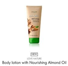 Oriflame Love Nature Body lotion with Nourishing Almond Oil, 200ml *Sale*