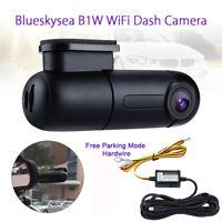 B1W 1080P Mini WiFi Car Dash Camera 360° Rotate Capacitor Parking mode+Hardwire