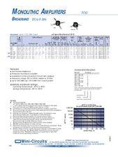1pcs ERA-33SM Mini-Circuits SOT-86 MMIC BROADBAND AMPLIFIER DC-3GHz VV107 4-PIN