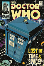 Doctor Who Lost in Time & Space Tardis Poster 61 X 91cm
