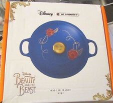 Disney Le Creuset Beauty The Beast Limited Edition Be Our Guest 1st Series Rare