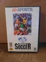 FIFA International Soccer (Sega Genesis, 1993) Complete Game