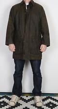 "BARBOUR Border Wax Jacket Chest 40"" Green Medium (CCK)"