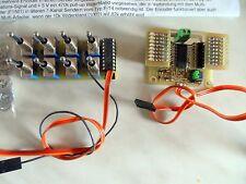Conmutación múltiple descodificador codificador 16 canal kit de integracion para Robbe Futaba F-serie