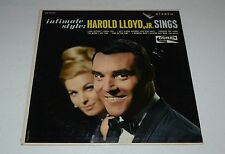Harold Lloyd, Jr.~Intimate Style~Coral CRL 757471~Vocal Pop~Inner~FAST SHIPPING!