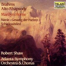 Brahms: Rapsodia Per Contralto, Nanie, Schicksalslied / Shaw, Marilyn Horne CD