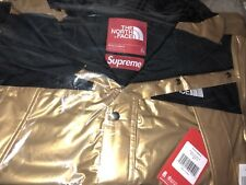 Supreme The North Face Metallic Mountain Parka Gold Extra Large XL FREE PNP