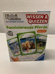 Faszinierende Pferde - tiptoi - Ravensburger - Kartenspiel - neuwertig