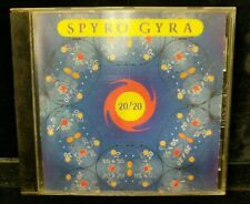 Used Spyro Gyra -20/20 CD Hologram Case Experimental Instrumental Lot M17-Z