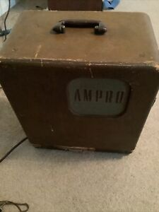 Vintage Ampro Premier Stylist 16MM Film Projector