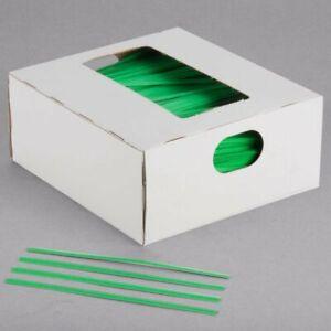 """Twist Ties Seal Plastic Bags Secure Food And Gifts 4"""" - 7"""" Bag Ties 2000/Pack"""